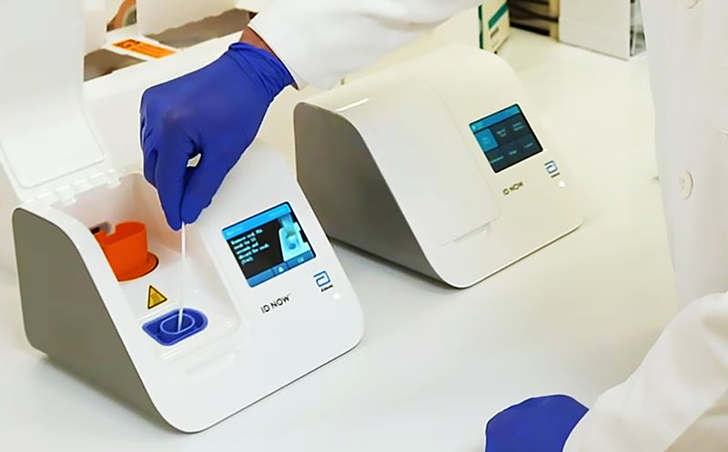 Abbott Laboratories Launches 5-Minute Virus Test for Use Almost Anywhere
