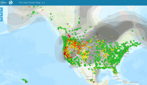 Read more about the article Wildfire Smoke getting to you? Here are some tips on improving your air quality so you feel good